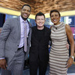 Robin Roberts and Rick Astley