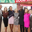 Michael Strahan and Ginger Zee Photos
