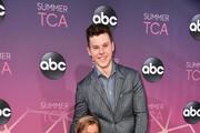 Jeremy Maguire and Nolan Gould attend ABC's TCA Summer Press Tour Carpet Event on August 05, 2019 in West Hollywood, California.