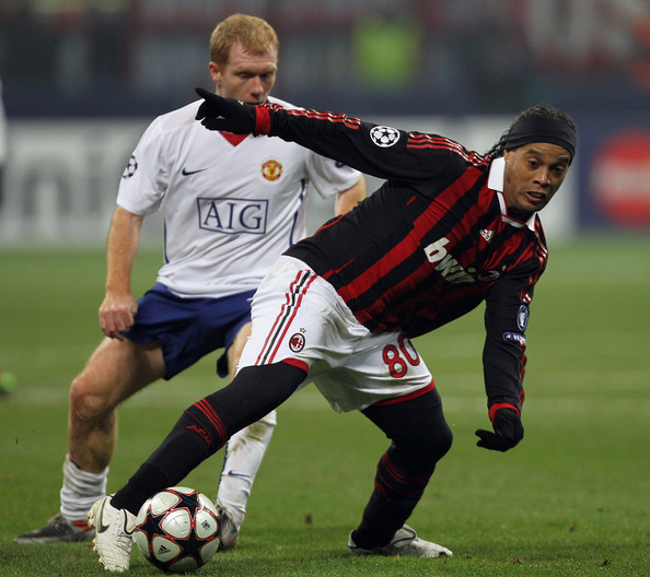 AC Milan v Manchester United - UEFA Champions League - Picturesac milan vs man utd 2010 highlight