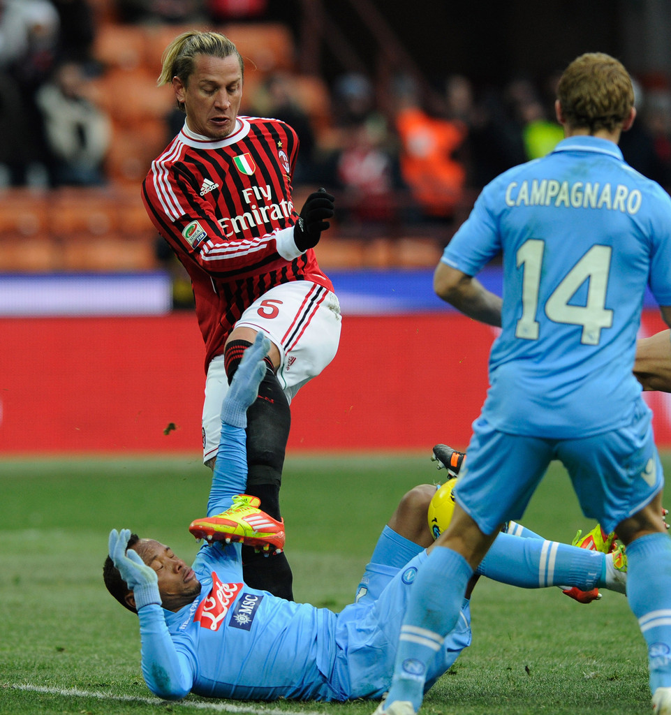 Philippe Mexes s s AC Milan v SSC Napoli Serie A