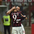 Giampaolo Pazzini and Stephan El Shaarawy Photos
