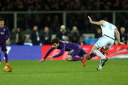 Giuseppe Rossi of ACF Fiorentina in action  during the Serie A match between ACF Fiorentina and SS Lazio at Stadio Artemio Franchi on January 9, 2016 in Florence, Italy.
