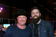 (L-R) Tracy Lawrence and Jordan Davis attend ACM Lifting Lives®: Decades on April 06, 2019 in Las Vegas, Nevada.