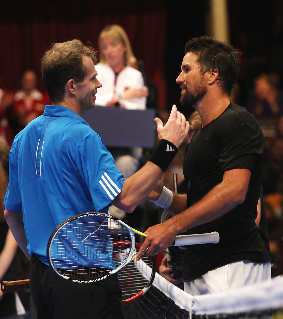 Pat Rafter and Stefan Edberg s s AEGON Masters Tennis