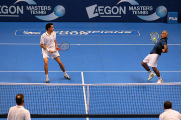 Younes El Aynaoui AEGON Masters Tennis - Day Two