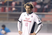 Diego Forlan of Cerezo Osaka in action the AFC Champions League match between Pohang Steelers and Cerezo Osaka at Pohang Steelyard on February 25, 2014 in Pohang, South Korea.