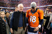 Peyton Manning and Archie Manning Photos Photo