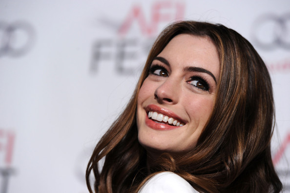 "Actress Anne Hathaway arrives at ""Love & Other Drugs"" Opening Night Gala"