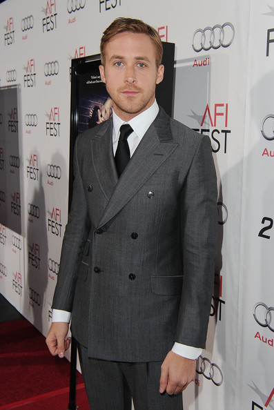 "Actor Ryan Gosling arrives at the ""Blue Valentine"" screening during AFI FEST 2010 presented by Audi held at Grauman's Chinese Theatre on November 6, 2010 in Hollywood, California."