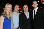 """(L-R) Producers Lynette Howell, Alex Orlovsky, Director Derek Cianfrance and Producer Jamie Patricof arrive at the """"Blue Valentine"""" screening during AFI FEST 2010 presented by Audi held at Grauman's Chinese Theatre on November 6, 2010 in Hollywood, California."""