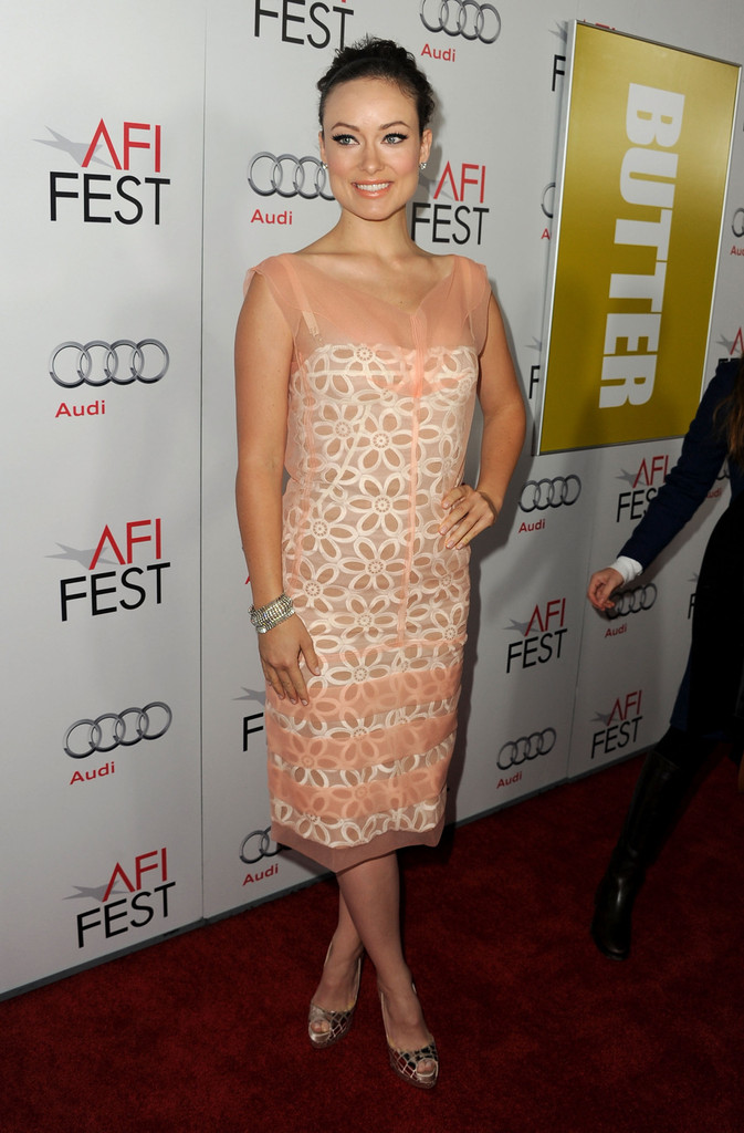 Actress Olivia Wilde arrives at the 2011 AFI FEST