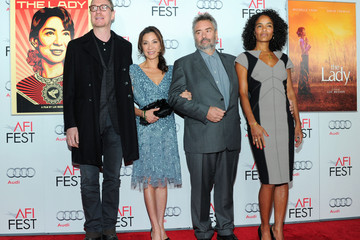 """Michelle Yeoh Luc Besson AFI FEST 2011 Presented By Audi - """"The Lady"""" Centerpiece Gala - Red Carpet"""