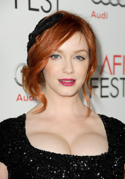 christina hendricks in afi fest 2012 presented by audi