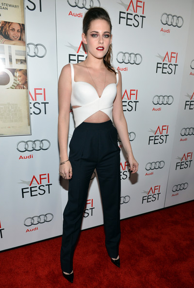 Love it or Loathe it: Kristen Stewart's Cutout Crop Top & High-Waisted Pants