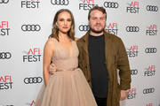 Natalie Portman (L) and Brady Corbet attend the Screening of 'Vox Lux' at AFI FEST 2018 Presented By Audi at the Egyptian Theatre on November 9, 2018 in Hollywood, California.