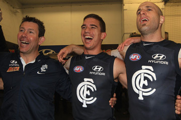 Chris Judd Brett Ratten AFL First Elimination Final - Carlton v Essendon
