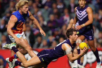 Clayton Hinkley AFL Rd 14 - Fremantle v Brisbane