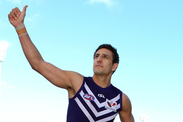Luke McPharlin Antoni Grover AFL Rd 15 - Fremantle v Gold Coast