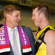 Nick Riewoldt and Jack Riewoldt Photos