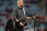 Diesel performs before the round 18 AFL match between the Sydney Swans and the Geelong Cats at ANZ Stadium on July 31, 2010 in Sydney, Australia.