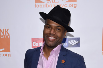 AJ Calloway Food Bank of New York City Can Do Awards 2016 Hosted by Michael Strahan and Mario Batali - Arrivals