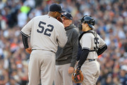 C.C. Sabathia and Russell Martin Photos Photo