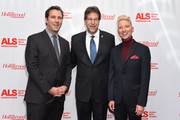 Matthew Belloni; Fred Fisher and Chris Gardner attend ALS Golden West Chapter Hosts Champions For Care And A Cure at The Fairmont Miramar Hotel & Bungalows on December 2, 2017 in Santa Monica, California.
