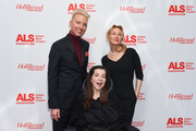 Chris Gardner, Nanci Ryder and Renee Zellweger attend ALS Golden West Chapter Hosts Champions For Care And A Cure at The Fairmont Miramar Hotel & Bungalows on December 2, 2017 in Santa Monica, California.