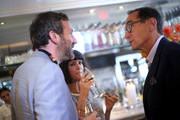 Chris O'Dowd and  Josh Sapan attend AMC Emmy Brunch 2019  on September 21, 2019 in West Hollywood, California.
