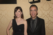Actress Carrie Brownstein and actor Fred Armisen attend the AMC, IFC And Sundance Channel's Primetime Emmy Awards Party 2014 at BOA Steakhouse on August 25, 2014 in West Hollywood, California.