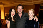 (L-R) Abigail Spencer, Aden Young and J. Smith-Cameron attend the AMC Networks Evening Event of the Winter 2020 TCA Press Tour on January 16, 2020 in Pasadena, California.