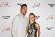 Caroline Wozniacki of Denmark and husband David Lee attend the AO Inspirational Series Lunch during the Australian Open 2020 at The Glasshouse at Melbourne Park on January 30, 2020 in Melbourne, Australia.