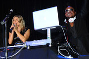 Fergie (L) and APL.De.Ap of the Black Eyed Peas perform at APL.De.Ap's Birthday Celebration and Launch of Charity Dreams at The Conga Room at L.A. Live on December 13, 2011 in Los Angeles, California.
