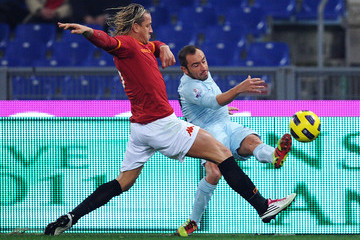 Christian Brocchi AS Roma v SS Lazio - Tim Cup