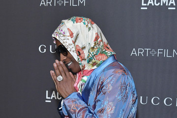 ASAP Rocky 2018 LACMA Art + Film Gala Honoring Catherine Opie And Guillermo Del Toro Presented By Gucci - Red Carpet
