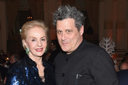 Designers Carolina Herrera (L) and Isaac Mizrahi attend the 21st Annual Bergh Ball hosted by the ASPCA at The Plaza Hotel on April 19, 2018 in New York City.