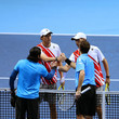 Bob Bryan and Leander Paes Photos