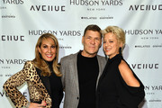 (L-R) Mona Andrikian, Greg Calejo and Dorinda Medley attend relaunch of New York lifestyle magazine AVENUE at Hudson Yards on January 22, 2020 in New York City.