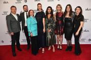 """(L-2R) Bill Sage, Ted Welch, Dale Soules, Breeda Wool, Lola Kirke, Charlotte Maltby and director Deb Shoval attend the """"AWOL"""" Premiere during the 2016 Tribeca Film Festival at SVA Theatre on April 15, 2016 in New York City."""