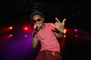 Rapper Chingy performs onstage during the AWXII kick-off concert on September 28, 2015 in New York City.