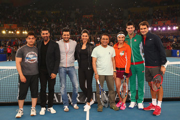 Aamir Khan Coca-Cola International Premier Tennis League: Day 3