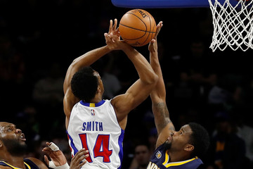 Aaron Brooks Indiana Pacers v Detroit Pistons