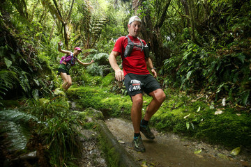 Aaron Carter Tarawera Trail Run