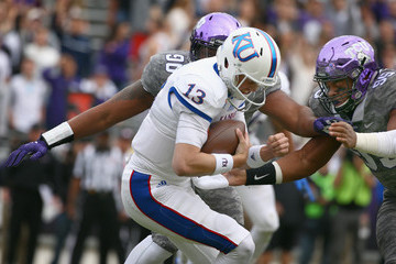 Aaron Curry Kansas v TCU