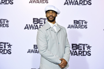 Aaron D. Spears Celebs Visit the 2015 BET Awards Press Room
