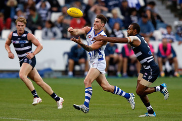 Aaron Mullet Geelong v North Melbourne