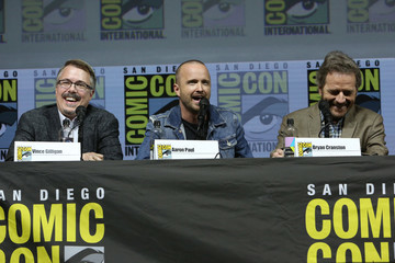 Aaron Paul Vince Gilligan AMC At Comic Con 2018 - Day 1