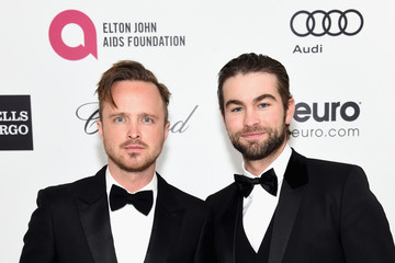 Aaron Paul Arrivals at the Elton John AIDS Foundation Oscars Viewing Party — Part 3