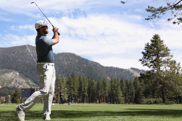 Aaron Rodgers American Century Championship - Round One